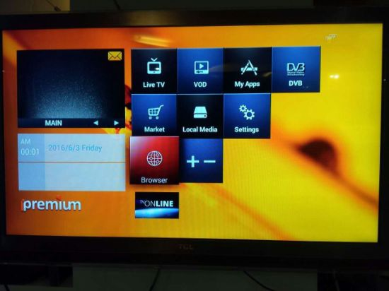 Digital Receiver DVB-T2+S2+C+IPTV Combo STB Ipremium I9 pictures & photos