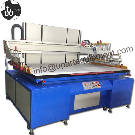 China Large Glass Silk Screen Printer Machine, Glass