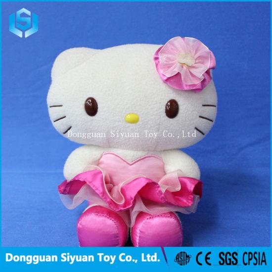 b67edb9b3 China Lovely Cute Plush Toy Hello Kitty with Shirt for Girl - China ...