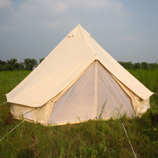 Outdoor Event Emperor Bell Tent High Quality Factory Sell 5m Cotton Bell Tent for UK & China Outdoor Event Emperor Bell Tent High Quality Factory Sell 5m ...