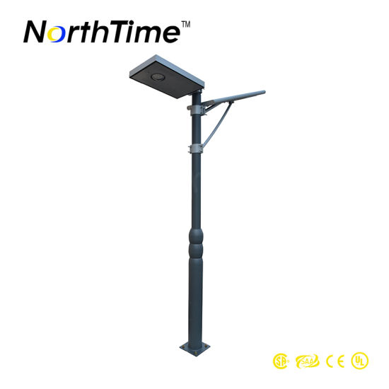 2-3m Mounting Height 650lm 12V 4ah 6W LED Solar Garden Light pictures & photos