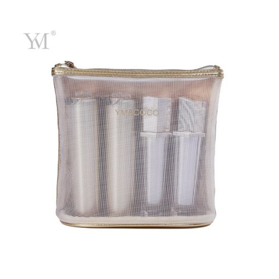 Factory Price Stand Mesh Pouch Cosmetic Bag pictures & photos