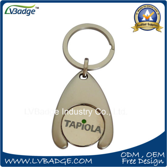 China Custom Trolley Coin and Token Coin for Promotion