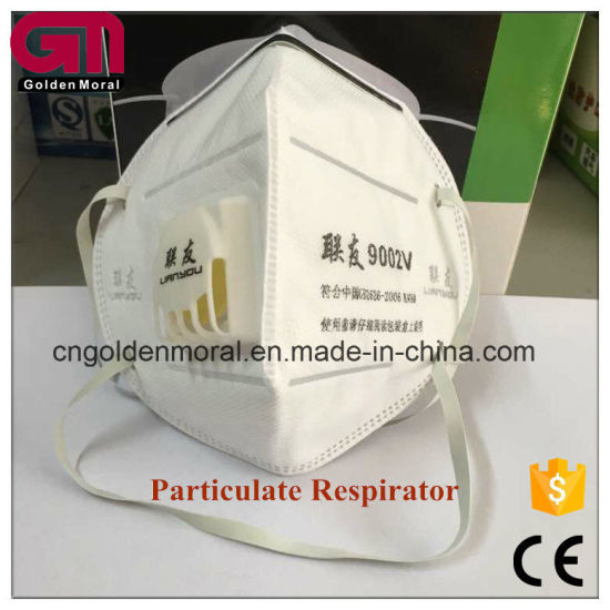 - China Mask Respirator Particulate 9002v N95
