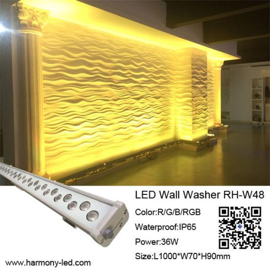 China High Power IP65 Wall Decorative LED Light Bar - China LED ...