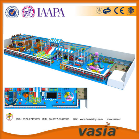 Vasia Aqua Series Indoor Playground for Cheap Sale pictures & photos