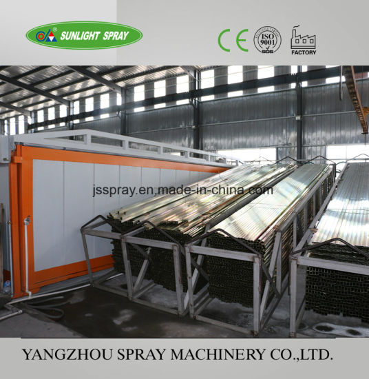 China Electrostatic Powder Spraying Coating Line Equipment pictures & photos