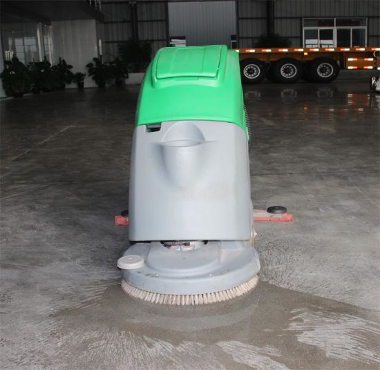 China Mini New Hand Push Electric Ceramic Tiles Floor Scrubber - Machine to wash tile floors