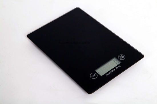 New Kitchen 5kg/1g Digital Food Scale with Touch-Style Switch