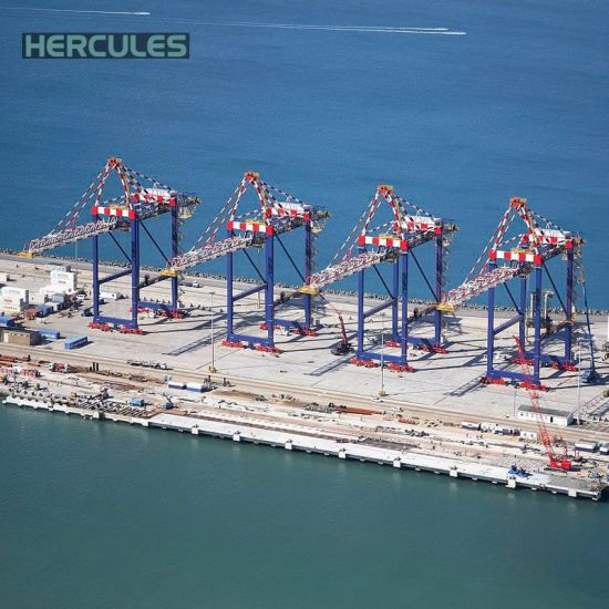 CE Certificated Four Link Type Port Container Cranes pictures & photos