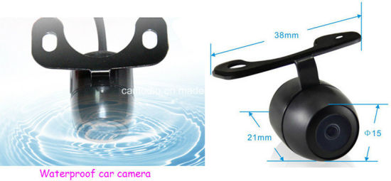 170 Degree Butterfly Security Camera Surveillance Aviation BMW Connector for Front View pictures & photos