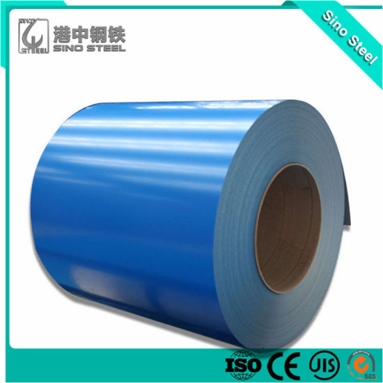 CGCC Ral5020 PPGI Prepainted Galvanized Steel Coil for Roofing Material pictures & photos