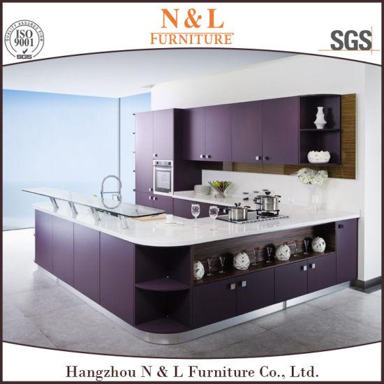 China N L Purple Modern Kitchen Cabinet Set 2 Pack Kitchen Cabinet China Modern Kitchen Cabinet Set 2 Pack Kitchen Cabinet