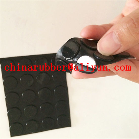 China Sticky Silicone Rubber Pads Epdm