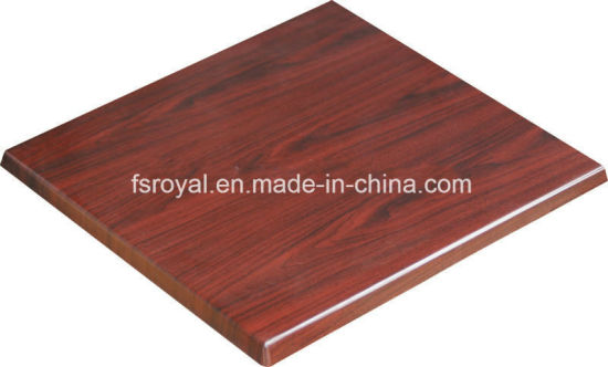 Wholesale Restaurant Canteen Dining Furniture Outdoor Coffee Shop Table Tops