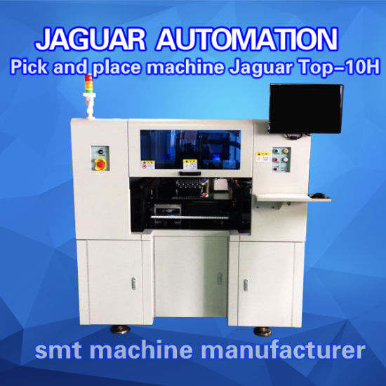 10 Heads High Speed Chip Mounter/Pick and Place Machine pictures & photos