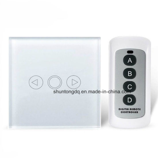 bbe5eff40237 ... Smart Home EU Remote Dimmer Switch, 500W Touch Glass Screen Light Switch  with Remote Control ...