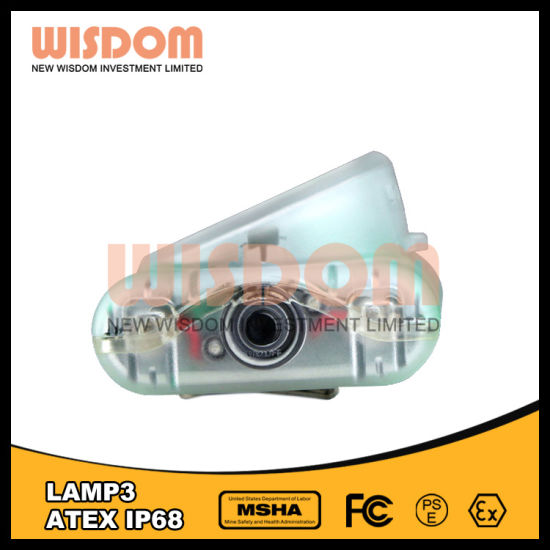 Wisdom Mining Cap Lamp, LED Lights with Atex Certificate pictures & photos