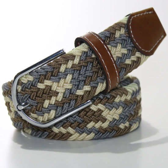 L12 Drop Shipment Braided Elastic Belts for Garment Accessories