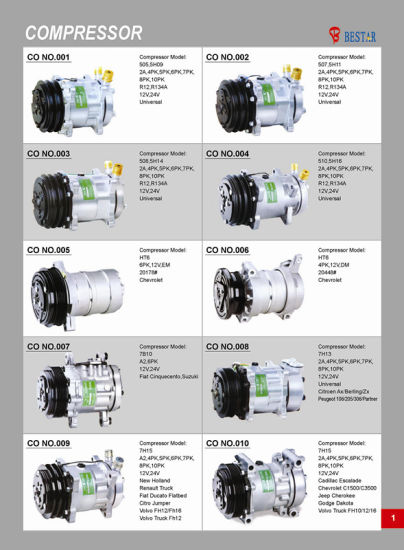 TM-31 Bus Compressor for Air Conditioner pictures & photos