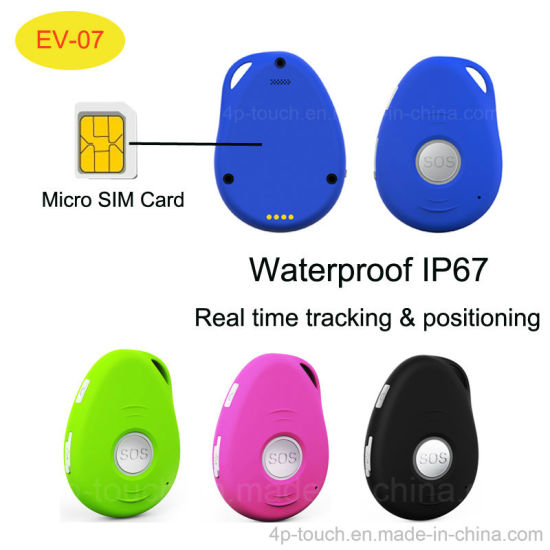 Sos GPS Personal Tracker with Real Time Tracking Position EV-07 pictures & photos