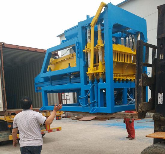 Qt4-15 Fully Automatic Hollow Solid Cement/ Concrete Block/Brick Making Machine Price pictures & photos