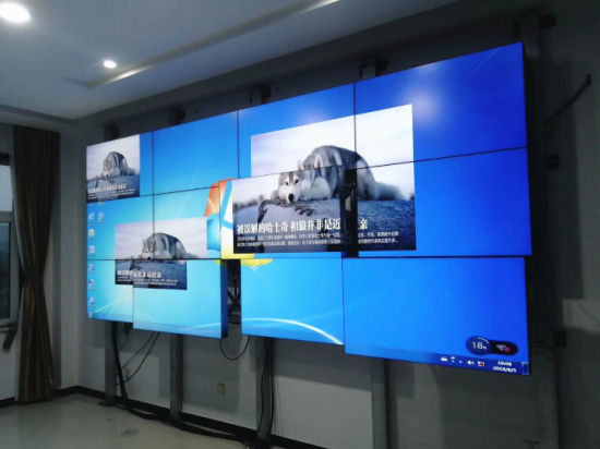 Narrow Bezel 1 8mm 46 Inch Sumsung LCD Video Wall
