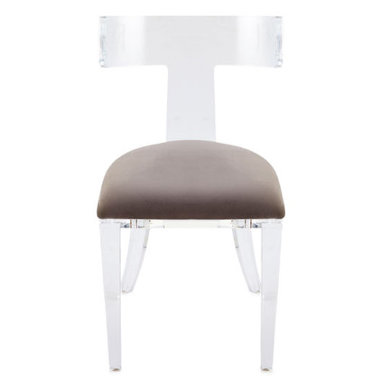 Enjoyable China Unique Designed Modern Leg Dining Acrylic Chair Alphanode Cool Chair Designs And Ideas Alphanodeonline