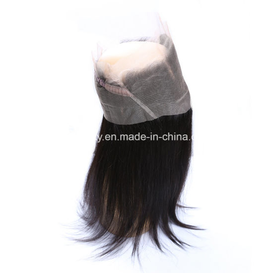 Virgin Hair 360 Lace Frontal Deep Wave Ear to Ear Lace Frontals pictures & photos