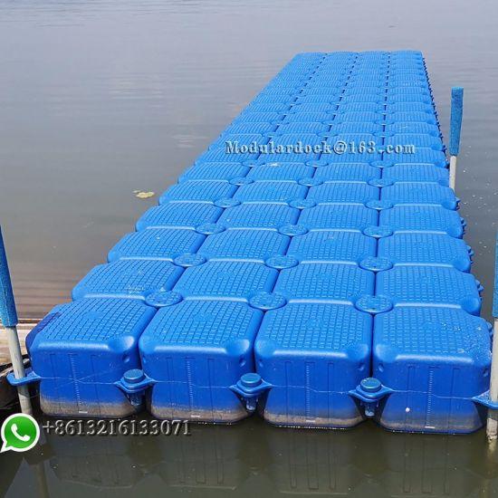 Plastic Pontoon Floating Bridge