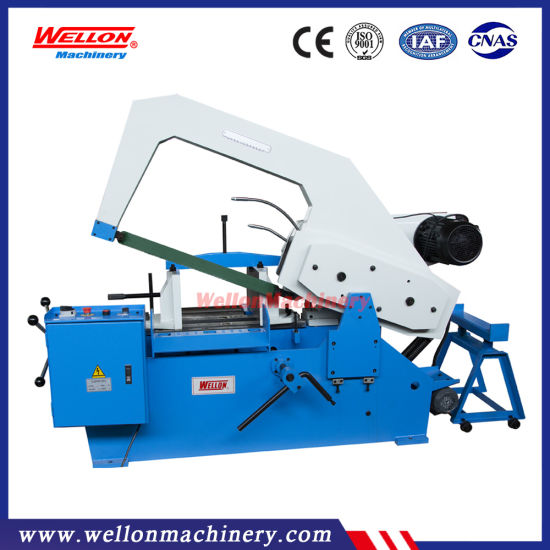 Power Hacksaw Machine GL-7125 / GL-7132 / GL-7140 Hack Sawing Machine