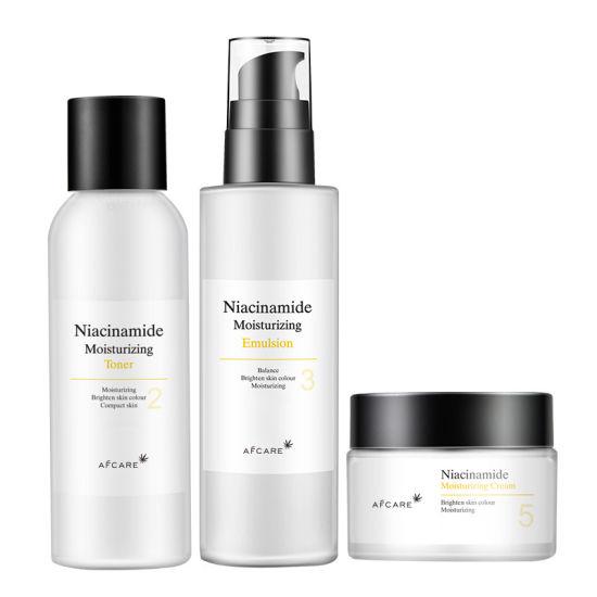 Niacinamide Four-Piece Skin Care Products Moisturizing Whitening Skin Care Set