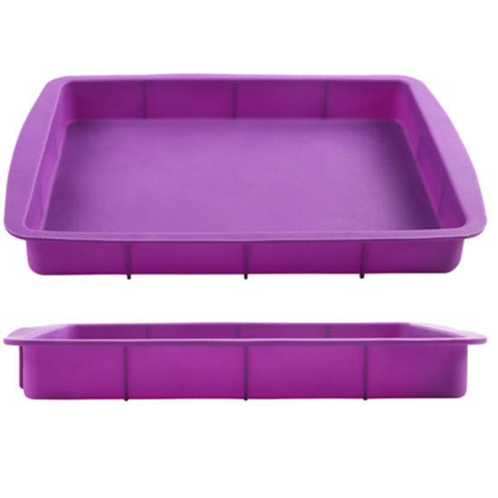 King Size Food Grade Silicone Baking Pan for Baking Cake