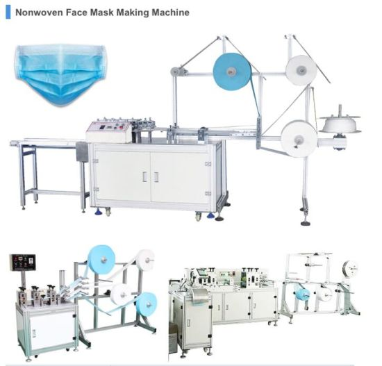 Surgical Face Mask Making Machine / Disposable Face Mask Making Machine / Full Automatic Face Mask Machine