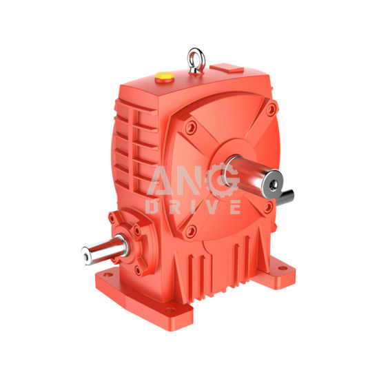 Wpa Right Angle Foot Mounted Cast Iron Worm Motor Speed Gearbox