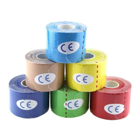 Material Strapping Custom Logo Waterproof Sports Kinesiology Tape