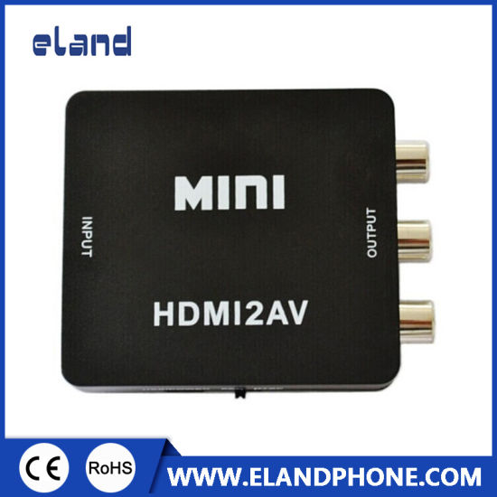 HDMI to RCA/AV Converter 1080P pictures & photos