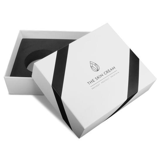 Custom Foam Insert Makeup Skincare Cosmetic Jar Bottle Set Paper Gift Packaging Box