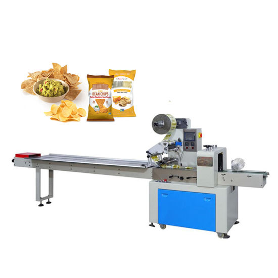 China Factory Best-Selling Quality Water Supervision Chocolate Packaging Machine Pillow Pillow Food Packaging Machine