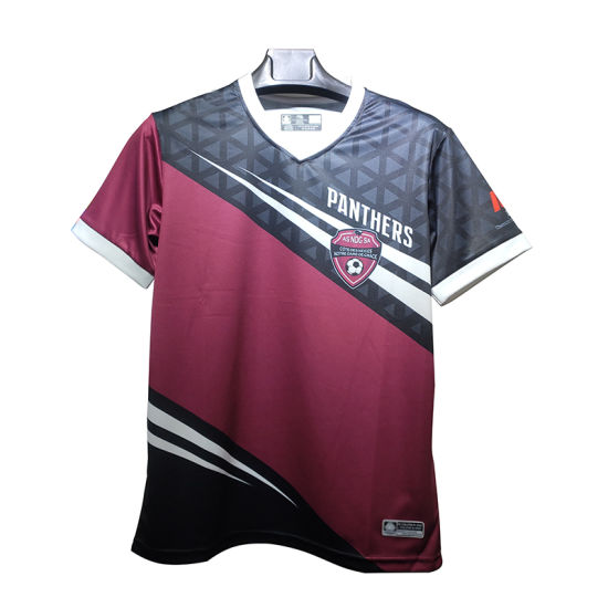 Wholesale Latest Best Unique Sublimation Custom Football Jersey Uniform Design
