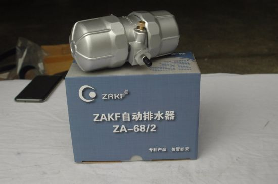 China Manufacturer Supply Air Compressor Parts Za-68/2 Automatic Drainer
