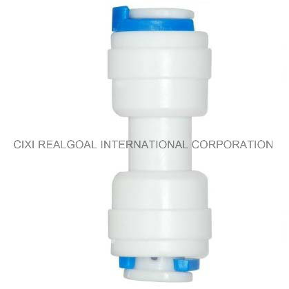 """RO Quick Fitting Manufacturer Straight 1/4"""" Tube X 1/4"""" Tube RO Pipe Quick Fitting Connect for RO System Water Filter Purifier"""