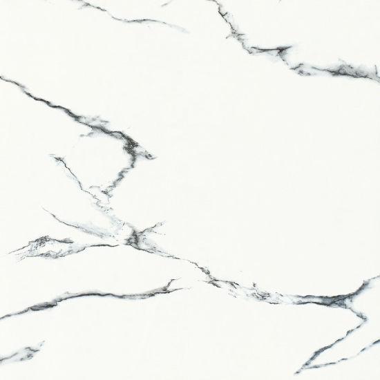 Foshan Manufacturer White Marble Look Glazed Tile for Showroom Decor