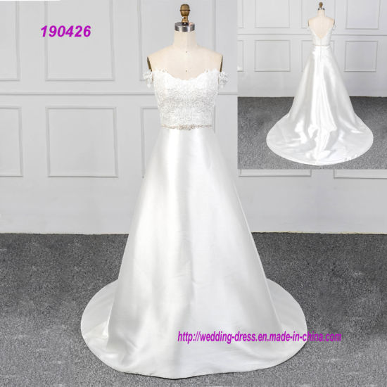 Satin Lace Bridal Gowns Cheap Wedding Dress That Fit Your Style and Budget!
