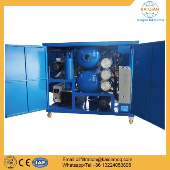 Vacuum Transformer Oil Treatment Price pictures & photos
