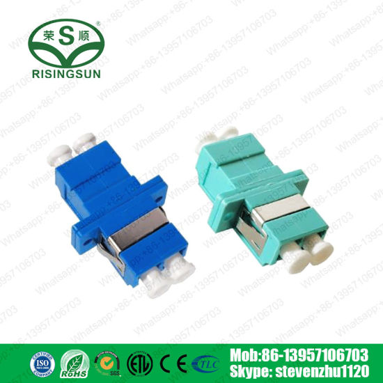 Professional Manufacturer Fiber Optic LC Type Duplex Optical Adaptor pictures & photos