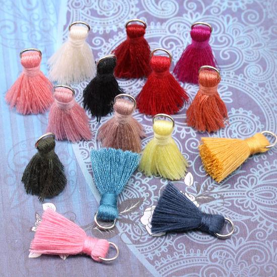 Wholesale More Colors 2cm Lace Fringe Trim Tassel for Decoration