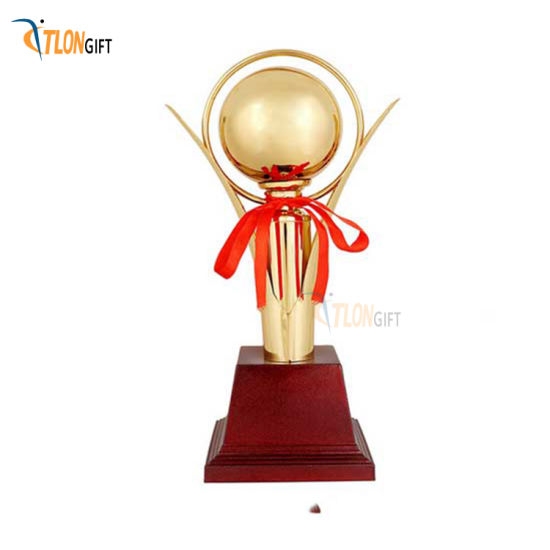 Creative Design Zinc Alloy Metal Honor Sport Trophy