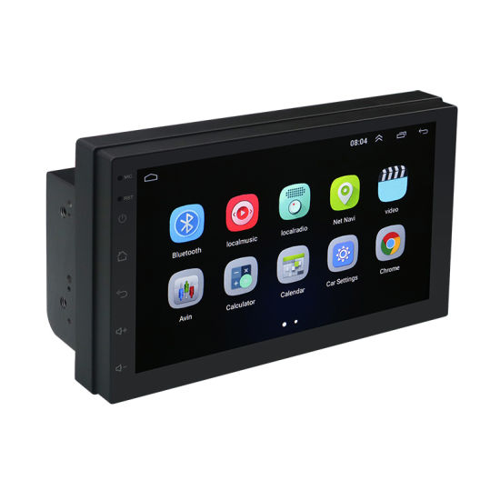 7.0 Inch Touch Screen Android 8.1 Car DVD Player with WiFi Bluetooth GPS MP5 Player pictures & photos