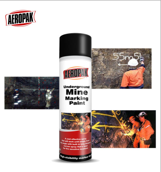Aeropak High Quality Underground Mine Marking Paint pictures & photos